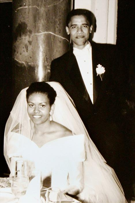 Michelle ve Barack Obama, 1992'de Chicago'da evlenmişlerdi.
